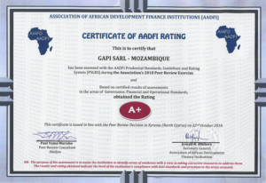 "Gapi celebrates its 29 years with the ""rating A+"""